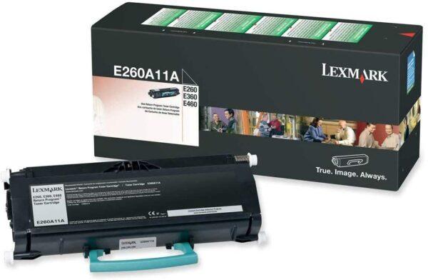 Lexmark E260 Crni Toner Cartridge