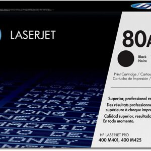 Hp crni laser toner cartridge 80A