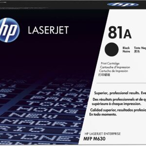 Hp crni laser toner cartridge 81A