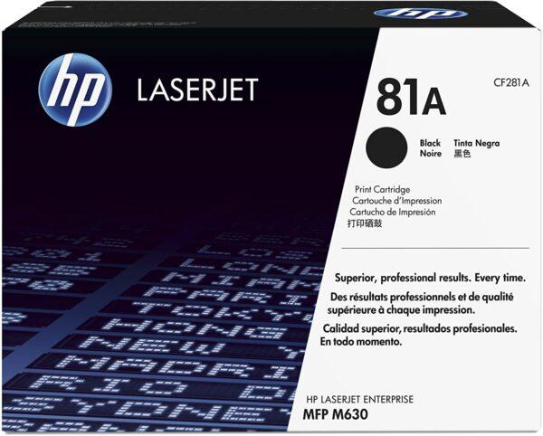Hp crni laser toner cartridge 81A